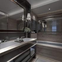 Pierwsza odsłona łazienki.