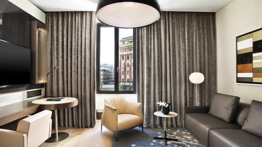 Apartament z Milaese Lifestyle. Wszystkie apartamenty wyposażone są w usługi lokaja, aby upewnić się, że każde życzenie Klienta zostanie zaspokojone.