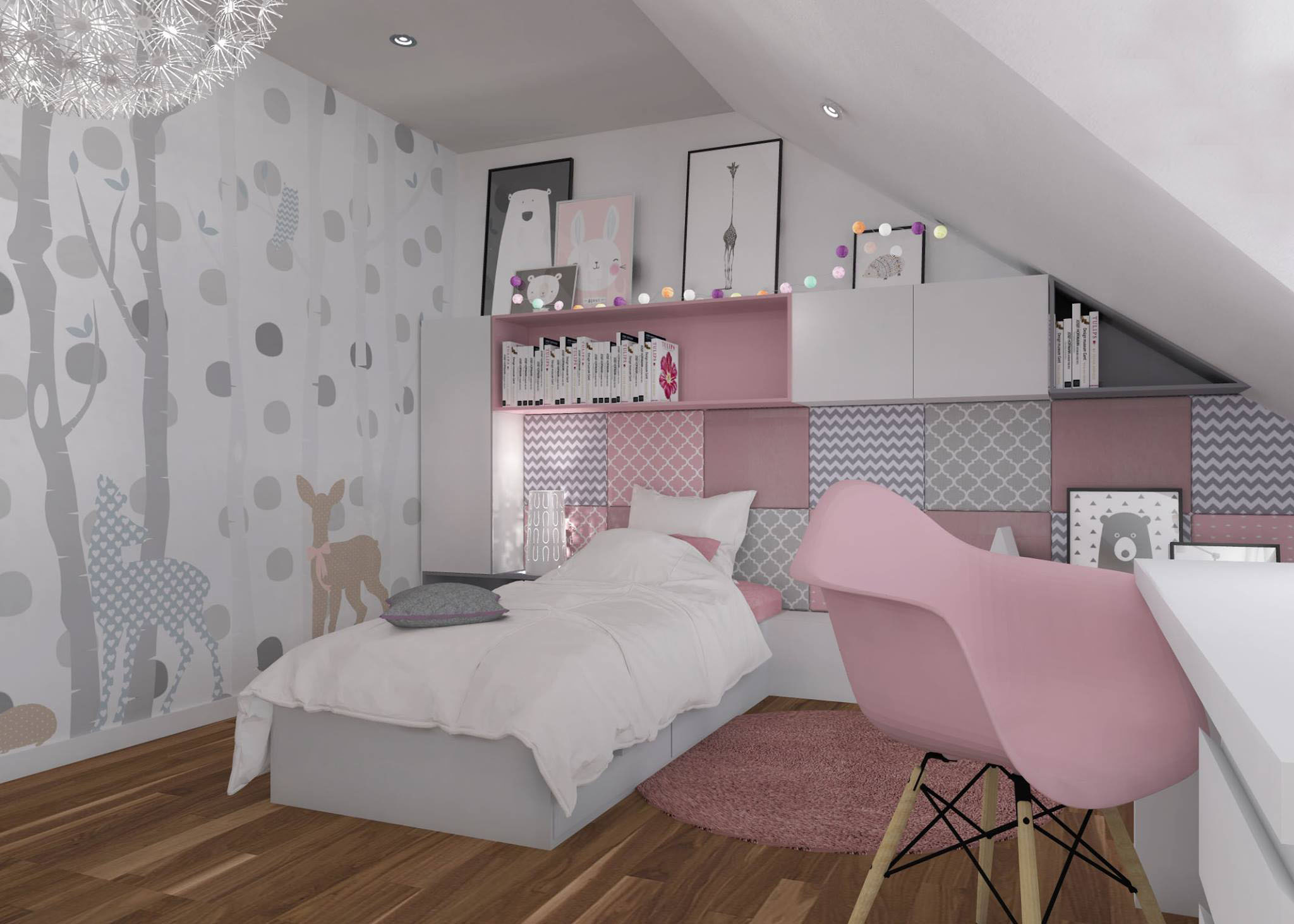 r owy pok j dla dziewczynki aleksandra wachowicz. Black Bedroom Furniture Sets. Home Design Ideas
